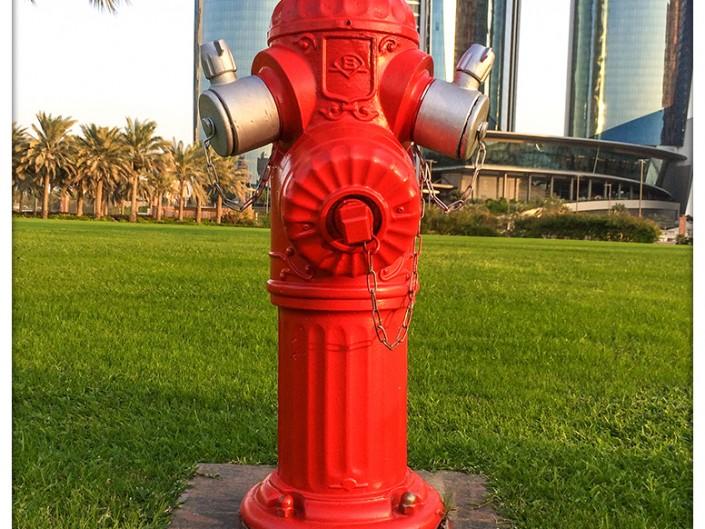 Hidrantes Emiratos Árabes Unidos